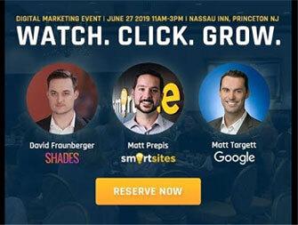 Smartsites x Shades x Google PPC & Video Marketing Event
