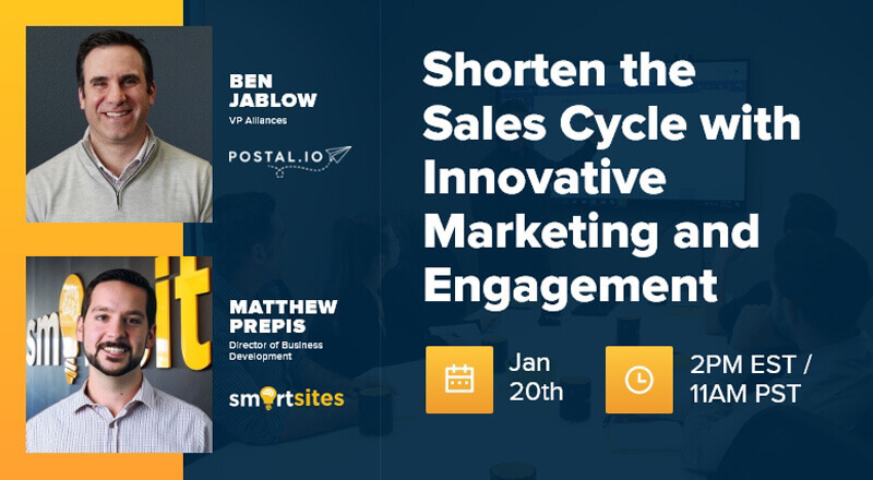 SmartSites x Postal: Shorten the Sales Cycle with Innovative Marketing and Engagement