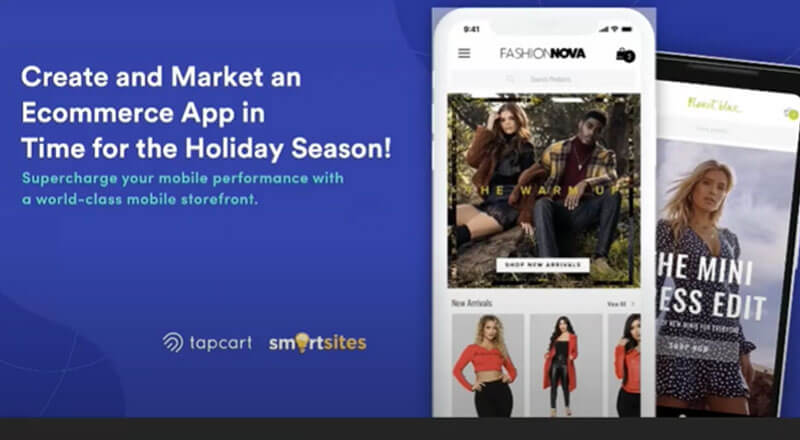 SmartSites x TapCart: Create and Market an App in time for the Holidays!