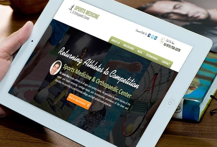 Sports Medicine & Orthopaedic WordPress Website