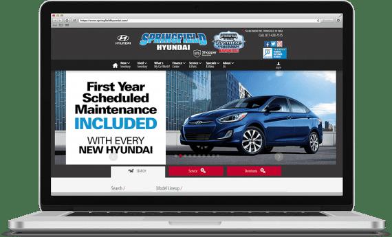 Springfield Hyundai Organic SEO Automotive