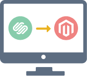 Squarespace Commerce to Magento Migration