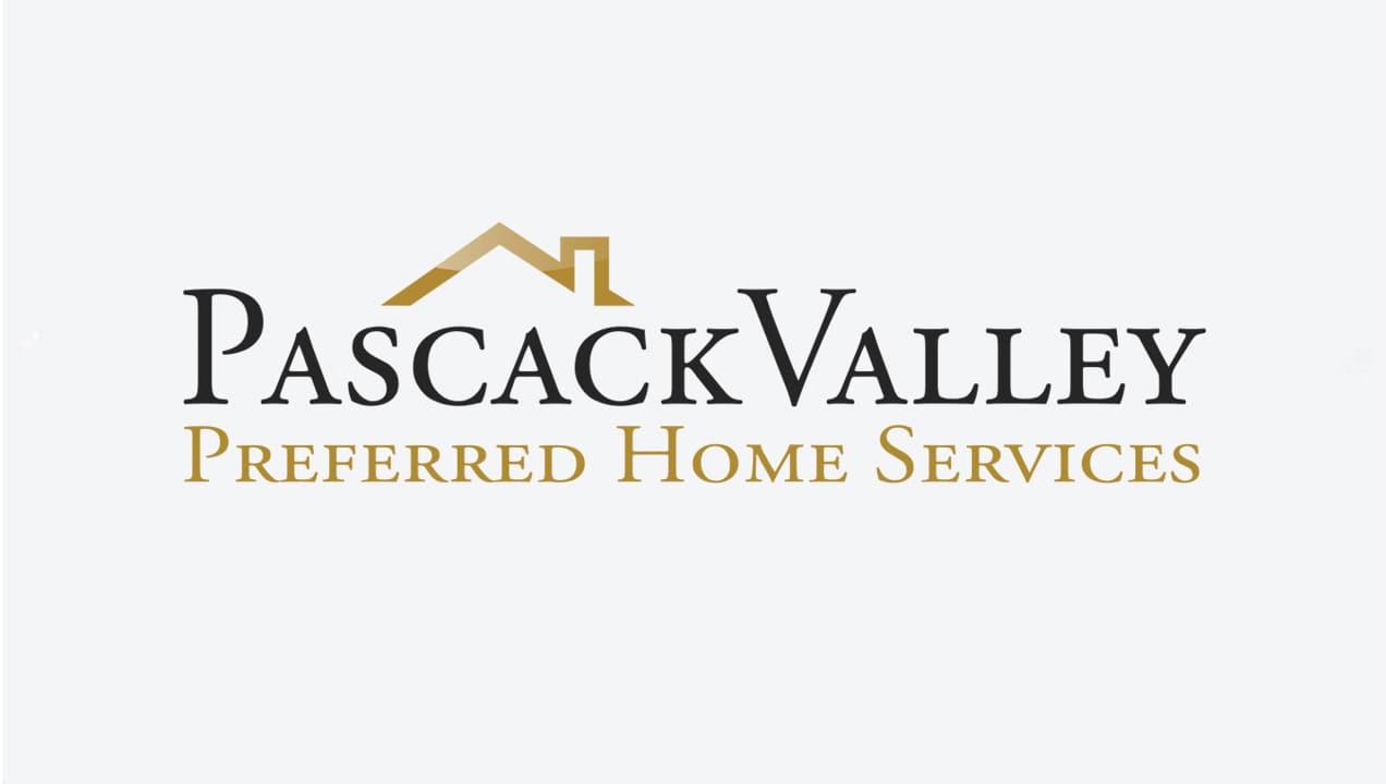 Pascack Valley Home Services logo design