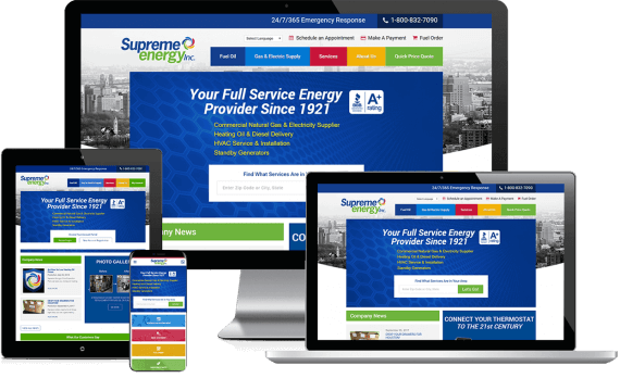 Supreme Energy Web Design Industrial & Commercial