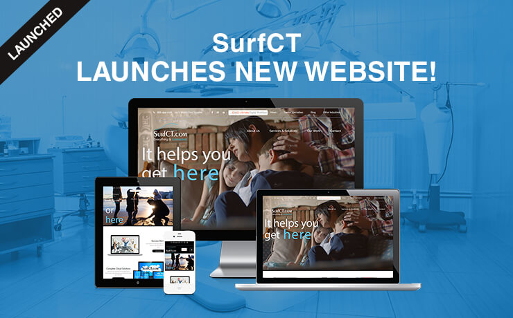 SurfCT Takes A Bite Out Of The Competition With A New Website!