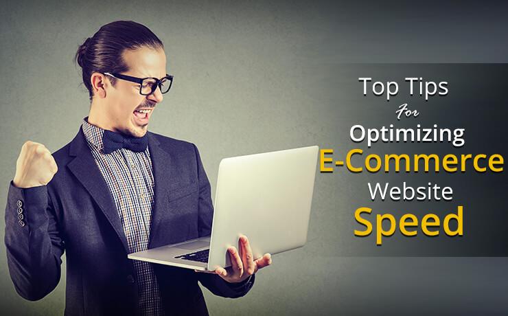 e-commerce website speed