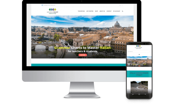 Italian Grammar School Web Design Template Site