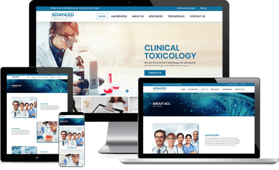 ACL Testing Web Design Medical & Healthcare