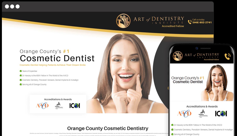 Art of Dentistry Responsive