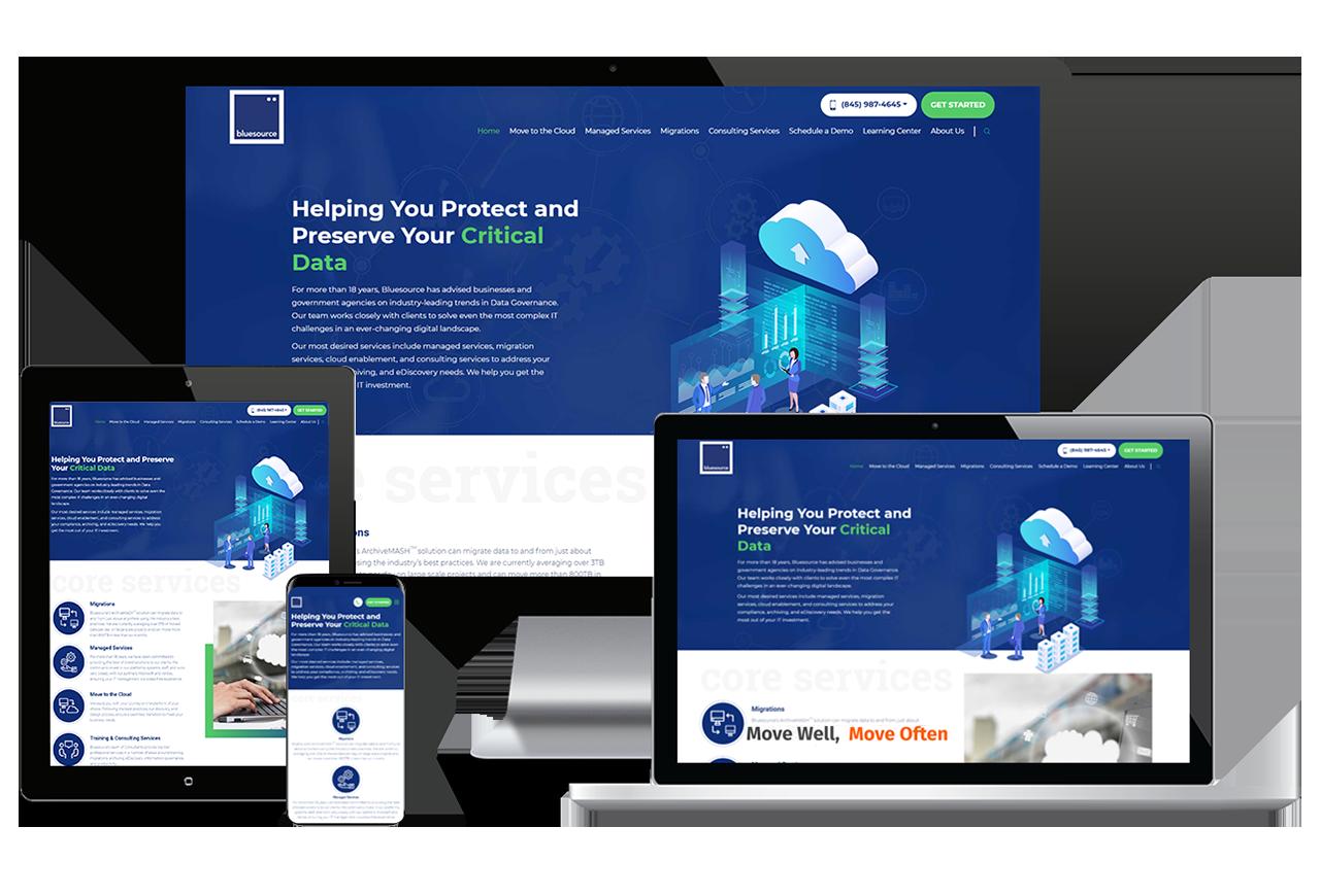 Web Design Responsive Showcase