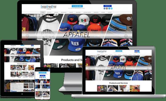 DesignBrandPrint Web Design Business to Business