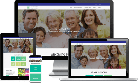 EnzyChem Web Design Medical & Healthcare