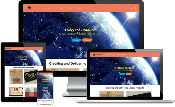 EverTech Web Design Ecommerce