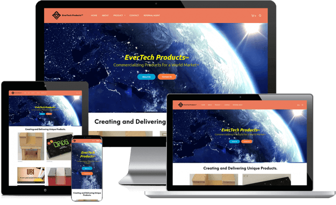 Ecommerce website for technology products