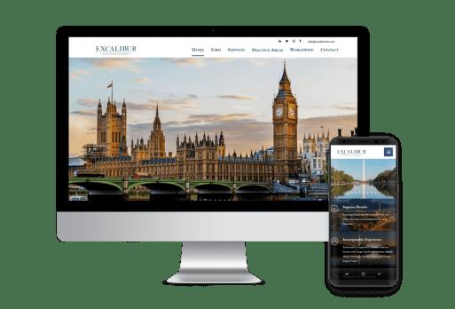Excalibur LLC Web Design Business to Business
