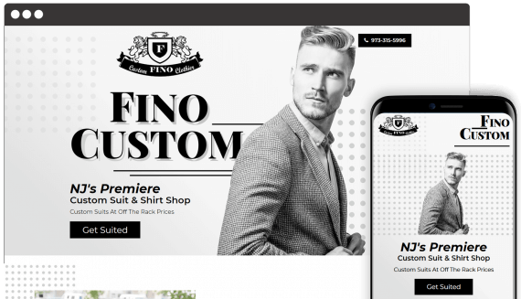 Fino Custom Web Design Retail