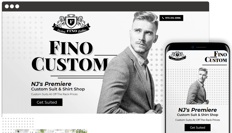 Fino Custom Responsive