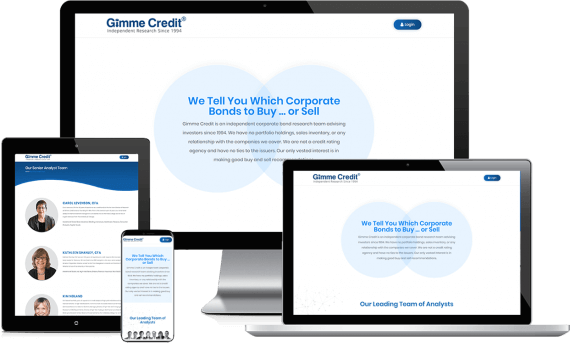 Gimme Credit LLC Web Design Business to Business
