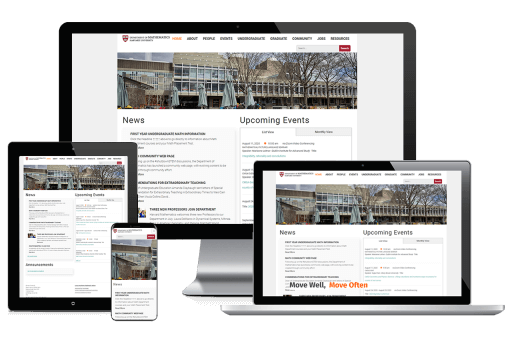 Harvard University Web Design Education