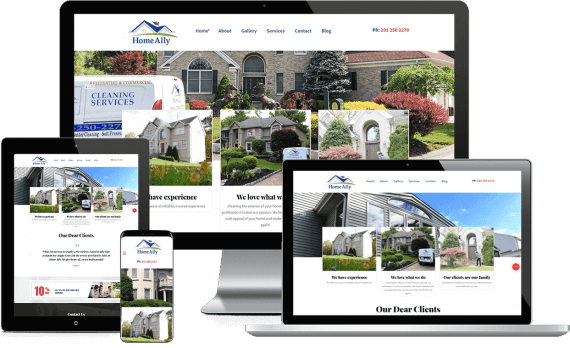 Home Ally Web Design Template Site