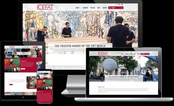 ICEFAT Web Design Custom Website
