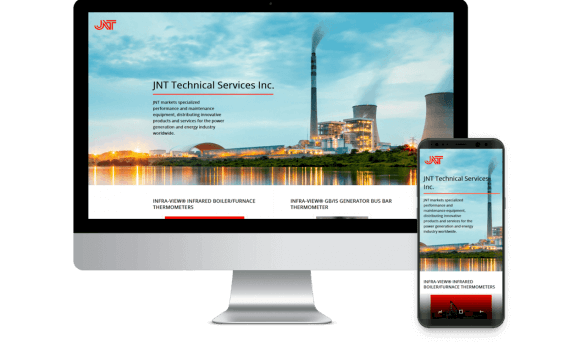 JNT Technical Services Web Design Business to Business
