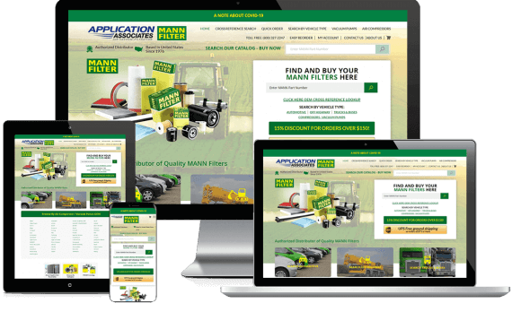 MANN Filters R Us Web Design Industrial & Commercial