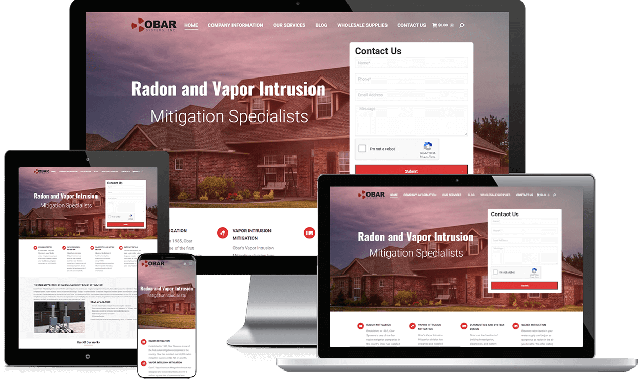 Obar Systems responsive