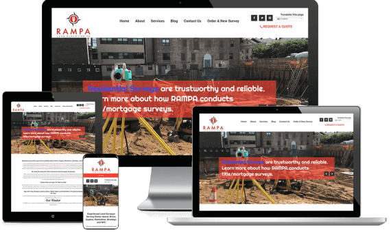 POB Precision Services Web Design Industrial & Commercial
