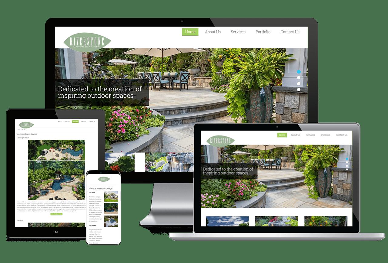 Riverstone Landscape Design Studio Responsive