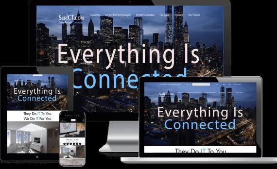 SurfCT Web Design Custom Website