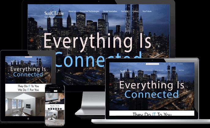 Custom website design for dental tech suppliers