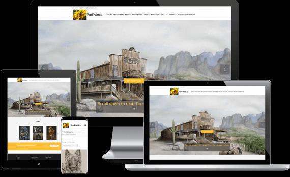 Terri Paints Web Design Small Business