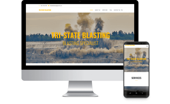 Tri State Blasting Web Design Industrial & Commercial
