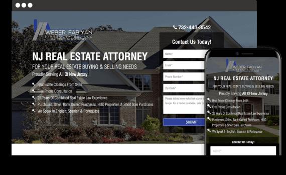 Weber, Fabiyan & Associates Web Design Legal Services