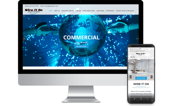 Wire It On Web Design Business to Business