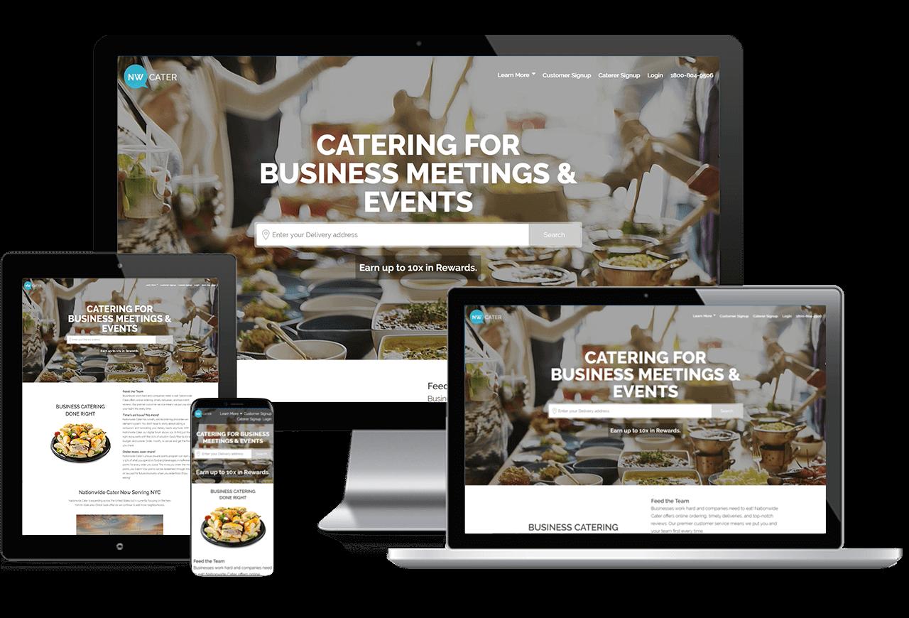 Web Design: Hillside Gourmet Responsive