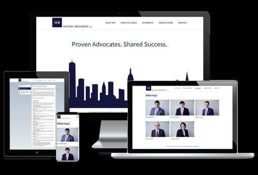 Mandel Bhandari Web Design Custom Website