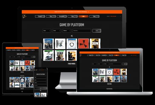 Meta Digital Athletics Web Design Custom Website