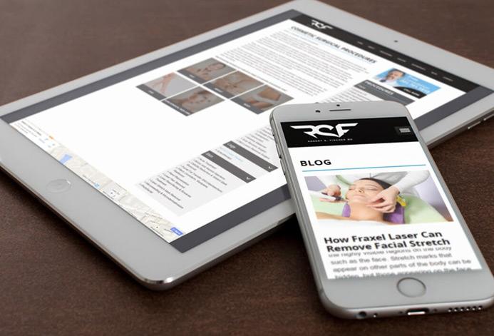 Robert Fischer Plastic Surgery WordPress Website