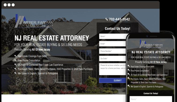 Weber Fabiyan & Associates LLC: Attorney & Law Website Redesign