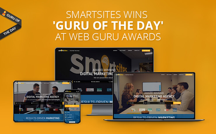 SmartSites Wins 'Guru Of The Day' At Web Guru Awards