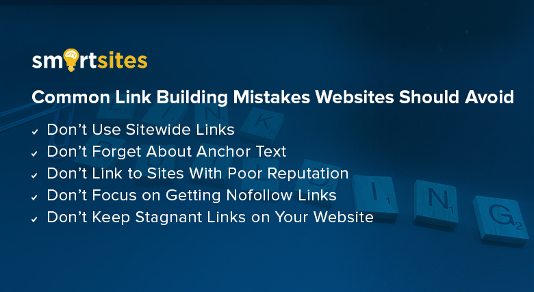 Common Link Building Mistakes Websites Should Avoid