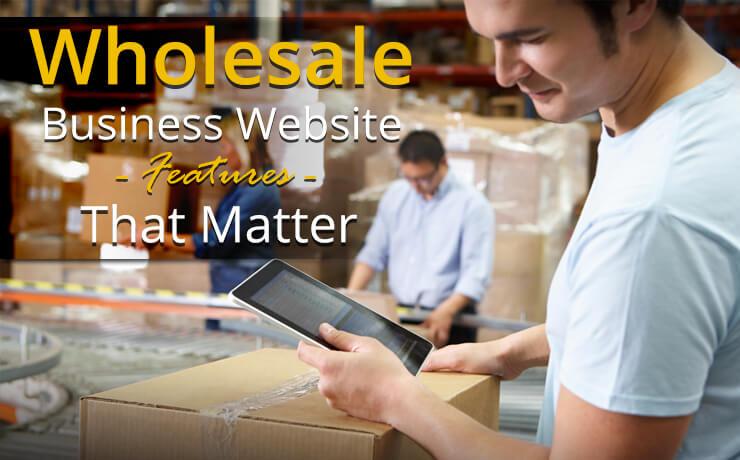 wholesale business website