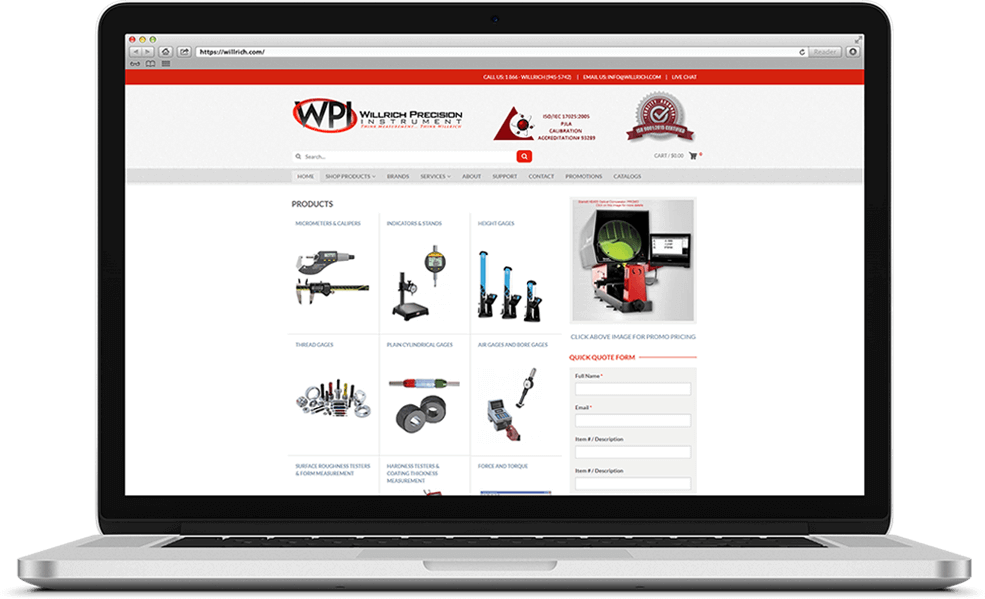 Willrich Precision Instruments