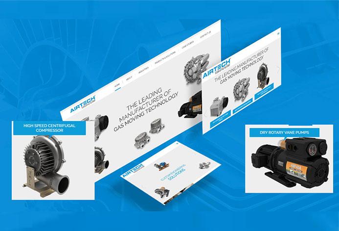 AirTech WordPress Website