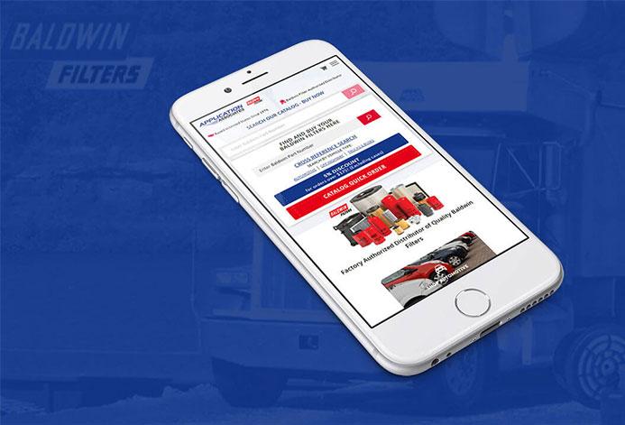Baldwin Filters R Us Magento Website