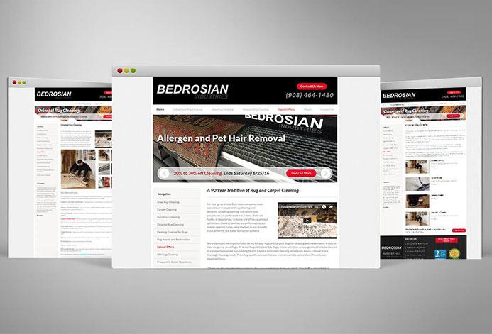 Bedrosian Rugs WordPress Website
