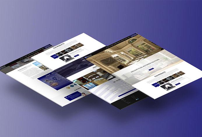 DEL Motorized Solutions WordPress Website