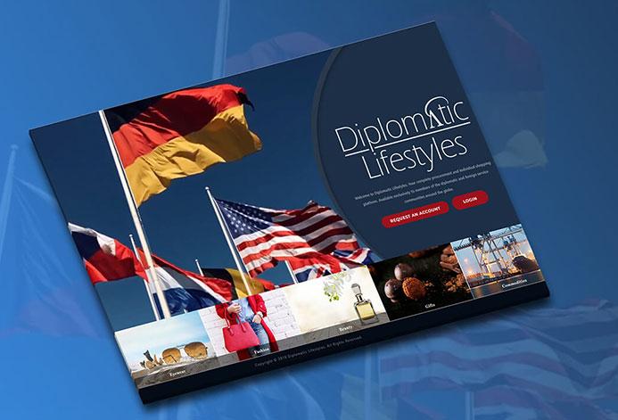 Diplomatic Lifestlyes WordPress Website